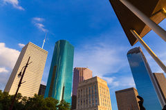 Houston Skyline North view in Texas US Royalty Free Stock Photos