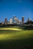 Houston-Skylineblaustunde Lizenzfreies Stockfoto