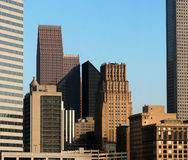 Houston Skyscrapers Royalty Free Stock Photography