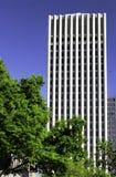 houston skyskrapa arkivbild