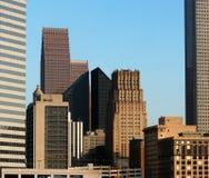 houston skyskrapor Royaltyfri Fotografi