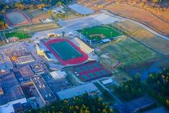 Houston Sports fält arkivfoto