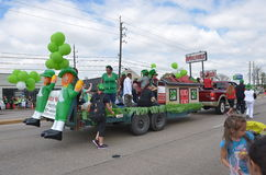Houston St. Patrick's Parade Annual 1960 st Royalty Free Stock Photography