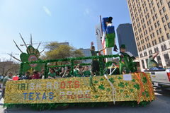 Houston St. Patrick's Parade. The Houston St. Patrick's Parade has always been a FREE event. The two-hour parade has historically been one of the largest in the royalty free stock photography