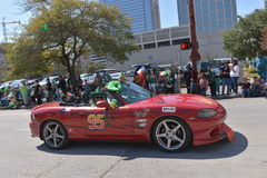 Houston St. Patrick's Parade. The Houston St. Patrick's Parade has always been a FREE event. The two-hour parade has historically been one of the largest in the royalty free stock photo