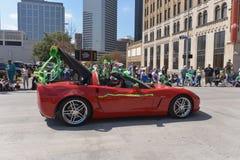 Houston St. Patrick's Parade Stock Photography