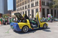 Houston St. Patrick's Parade Stock Images