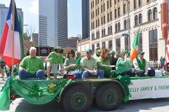 Houston St. Patrick's Parade Stock Photo
