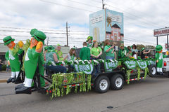 Houston St. Patrick's Parade on 1960 st. The 1960 Parade Committee is excited to announce the upcoming 37th Annual 1960 St. Patrick's Day Parade for Sunday Royalty Free Stock Photo