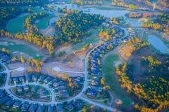 Houston Suburban Community arkivfoton