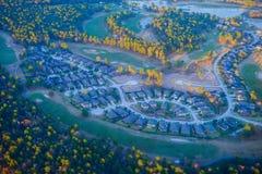 Houston Suburban arkivfoto