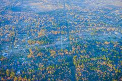Houston Suburban arkivbilder