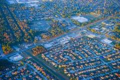 Houston Suburban-huis stock afbeeldingen