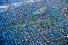 Houston Suburban-huis royalty-vrije stock afbeeldingen