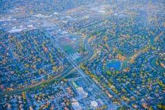 Houston Suburban-huis royalty-vrije stock foto's
