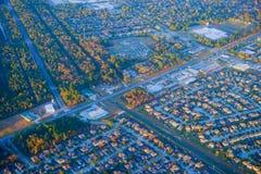 Houston Suburban hus arkivbilder