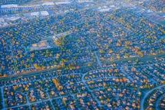 Houston Suburban hus arkivfoto