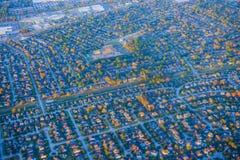 Houston Suburban hus royaltyfri foto