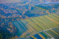 Houston Suburban-landbouwbedrijf royalty-vrije stock afbeeldingen