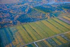 Houston Suburban-landbouwbedrijf stock foto
