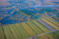 Houston Suburban-landbouwbedrijf royalty-vrije stock fotografie