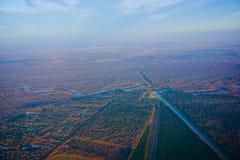 Houston Suburban River stock fotografie