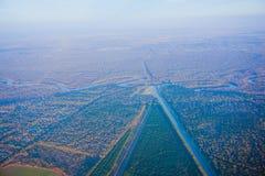 Houston Suburban River stock foto