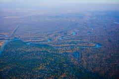 Houston Suburban River stock afbeeldingen