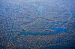 Houston Suburban River stock afbeelding