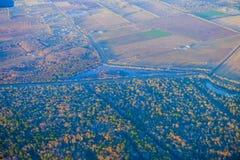 Houston Suburban River royalty-vrije stock fotografie