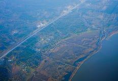 Houston Suburban royalty-vrije stock fotografie