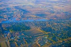 Houston Suburban fotografie stock libere da diritti