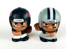 Houston Texans and Dallas Cowboys Li`l Teammates Toys