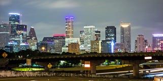 Houston Texas śródmieście i linia horyzontu zdjęcie royalty free