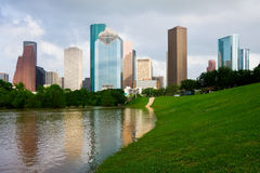houston texas Royaltyfria Foton