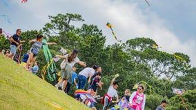 Houston, Texas, EUA março, 24o, 2019 festivais do papagaio fotos de stock