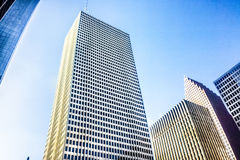 Houston, Texas. Modern downtown Houston, Texas is a vibrant and fast growing business district with amazing architecture Royalty Free Stock Photos