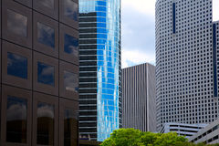 Houston Texas Skyline with modern skyscapers Stock Photos