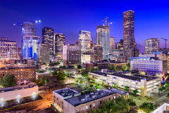 Houston Texas Skyline Royalty Free Stock Photography