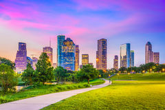 Houston Texas, USA Arkivbilder