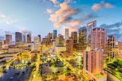 Houston, Texas, USA. Downtown city skyline Royalty Free Stock Photos