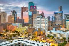 Free Houston, Texas, USA Downtown Skyline At Dusk Stock Images - 139736904