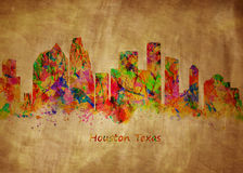 Houston Texas stock illustration