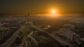 Houston van de binnenstad Stock Foto