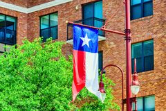 Houston van de binnenstad, Texas Stock Fotografie