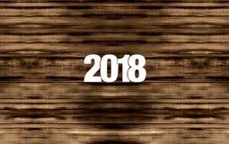 Hout 2018 Royalty-vrije Stock Afbeeldingen