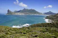 Hout Bay. Shot from Chapmans drive, Cape Peninsula, South Africa stock images