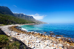 Hout bay beach Stock Photo