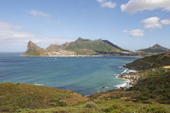Hout Bay from Chapmans Peak  Stock Image