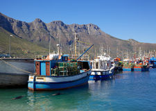Hout Bay Harbour Royalty Free Stock Image